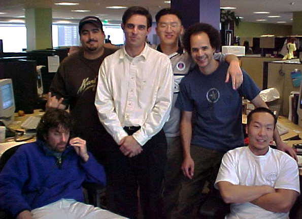 tony pierce and memebers of the xbi a year before the dawn of blogging